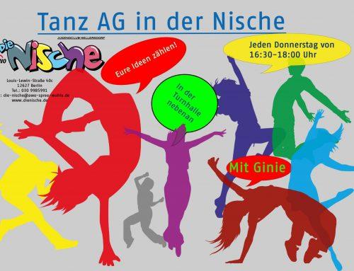 Tanz AG jeden Donnerstag